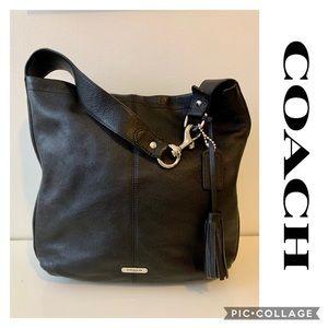 Coach Large Avery Sienna HoBo Bag Leather Purse